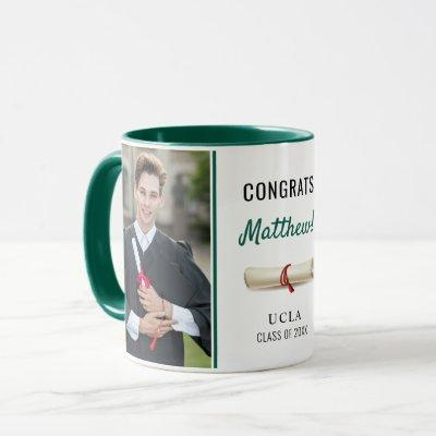 Young Man Graduate Graduation Gift Photo Coffee Mug