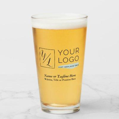 Your Corporate Logo and Customized Details Glass