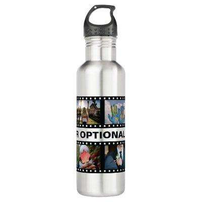 YOUR PHOTOS custom water bottles