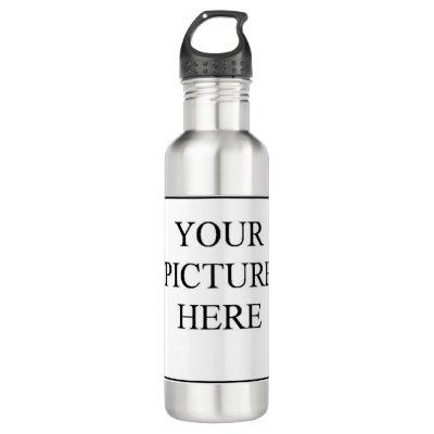 Your Picture Here Stainless Steel Water Bottle