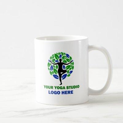 Your Yoga Studio Logo Tea or Coffee Coffee Mug