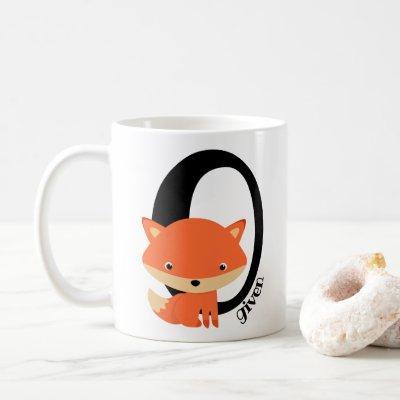 Zero Fox Given - cute sarcastic red fox Coffee Mug