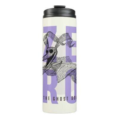 Zero The Ghost Dog - Typography Thermal Tumbler