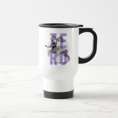 Zero The Ghost Dog - Typography Travel Mug