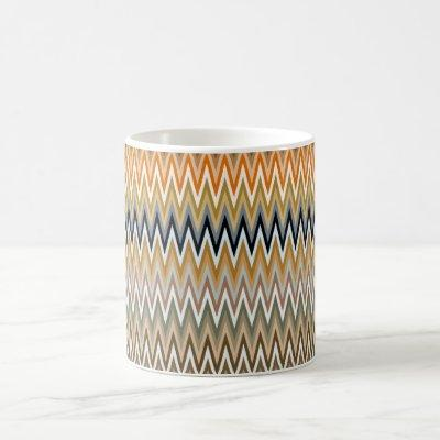 Zigzag Multicolor Pattern Coffee Mug