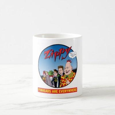 Zippy/Pinheads Are Everywhere Coffee Mug