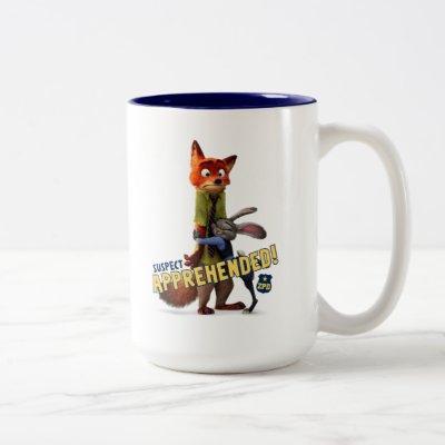 Zootopia | Judy & Nick - Suspect Apprehended! Two-Tone Coffee Mug