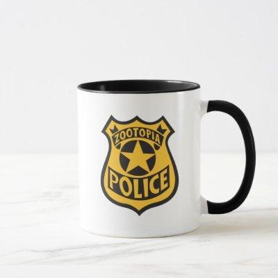 Zootopia | Zootopia Police Badge Mug